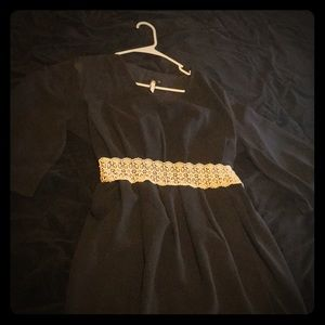 Adorable Black Dress 👗 Worn Once!!
